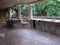 Grapevine Residence covered patio